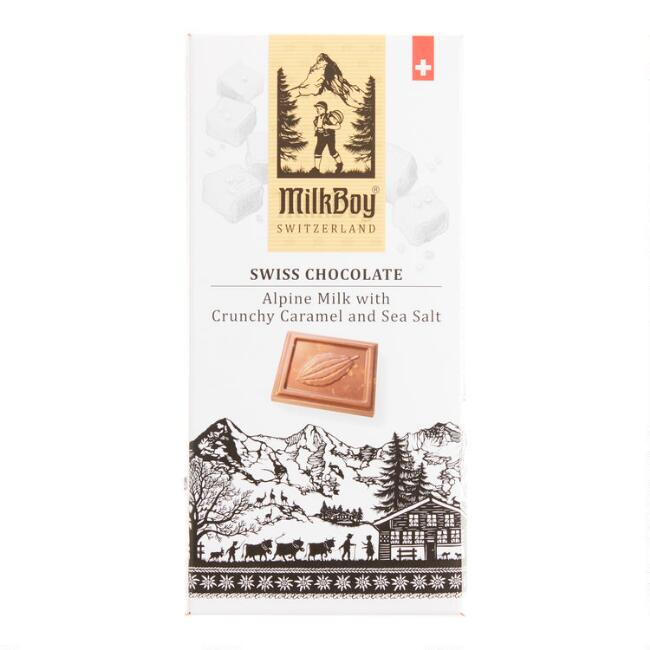 MilkBoy Sea Salt Caramel Milk Chocolate