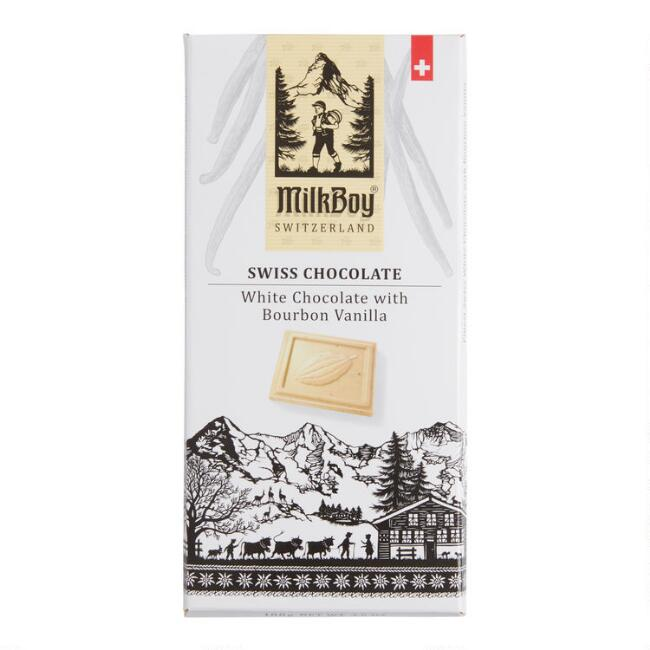 MilkBoy Bourbon Vanilla White Chocolate Bar