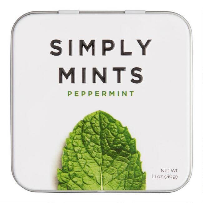 Simply Gum Peppermint Mints