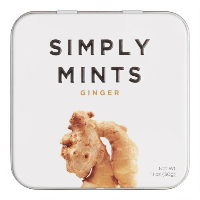 Simply Gum Ginger Mints Set of 6