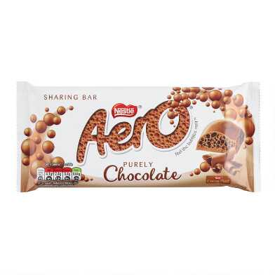 Large Nestle Aero Milk Chocolate Bar