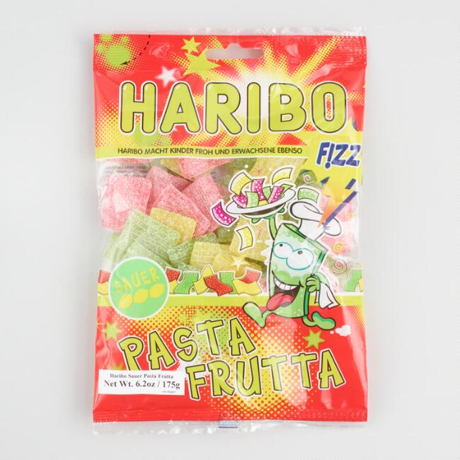 Haribo Sour Fruit Pasta Gummy Candy