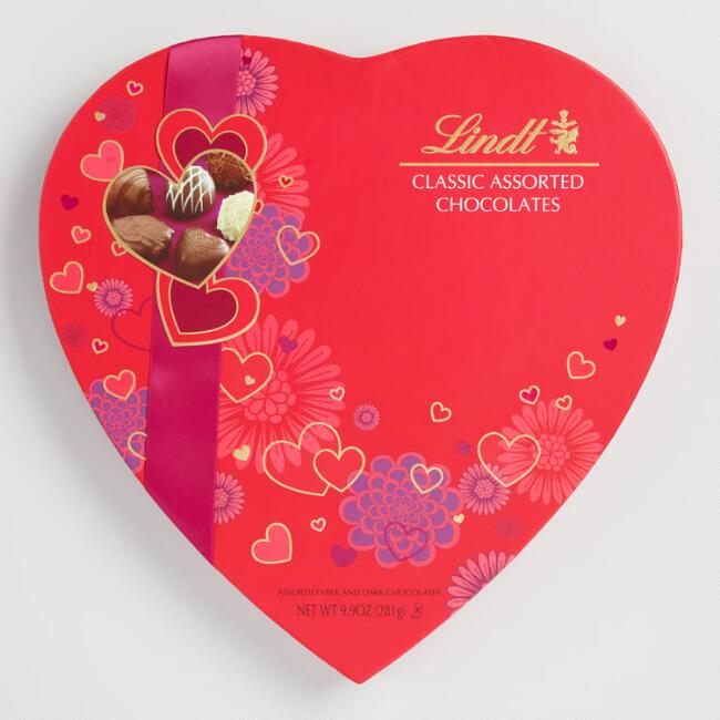 Lindt Classic Assorted Chocolate Heart Box