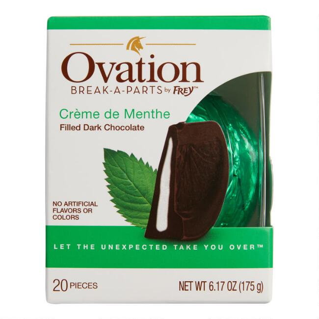 Ovation Creme de Menthe Dark Chocolate