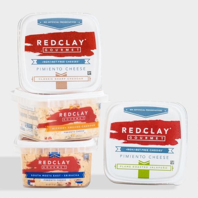 Red Clay Gourmet Pimento Cheese 4 Pack