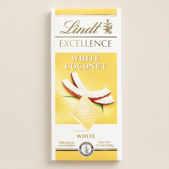 Lindt Excellence White Coconut Bar