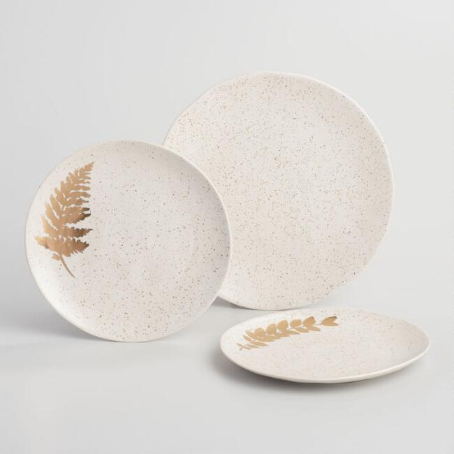 Stone Robin Speckled Dinnerware Collection