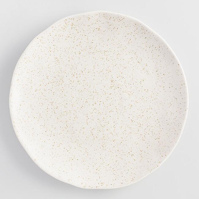 Stone Robin Speckled Dinner Plates Set of 4