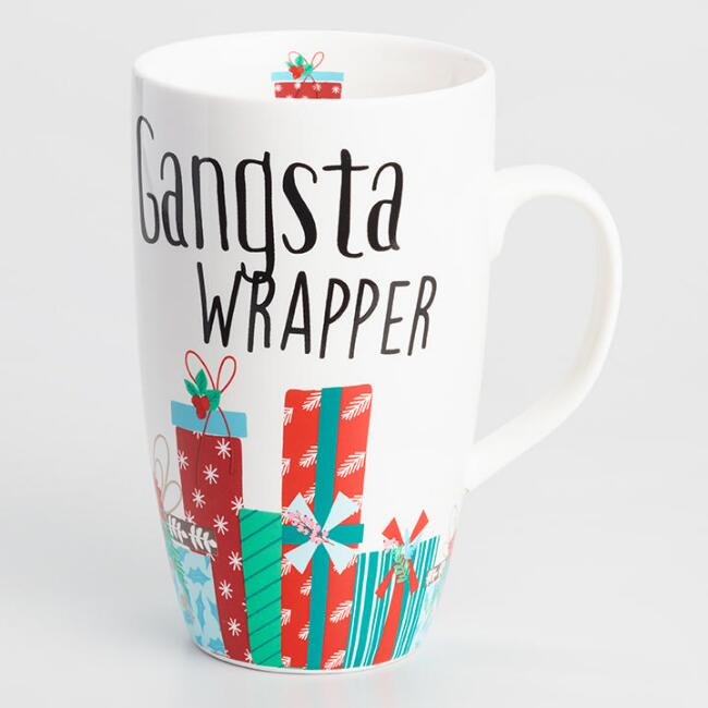 Gangsta Wrapper Latte Mug