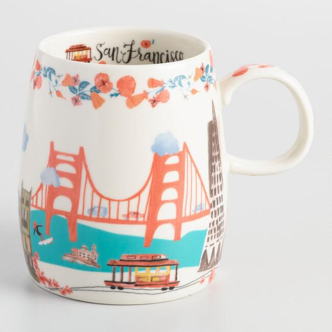 San Francisco World Traveler Mug
