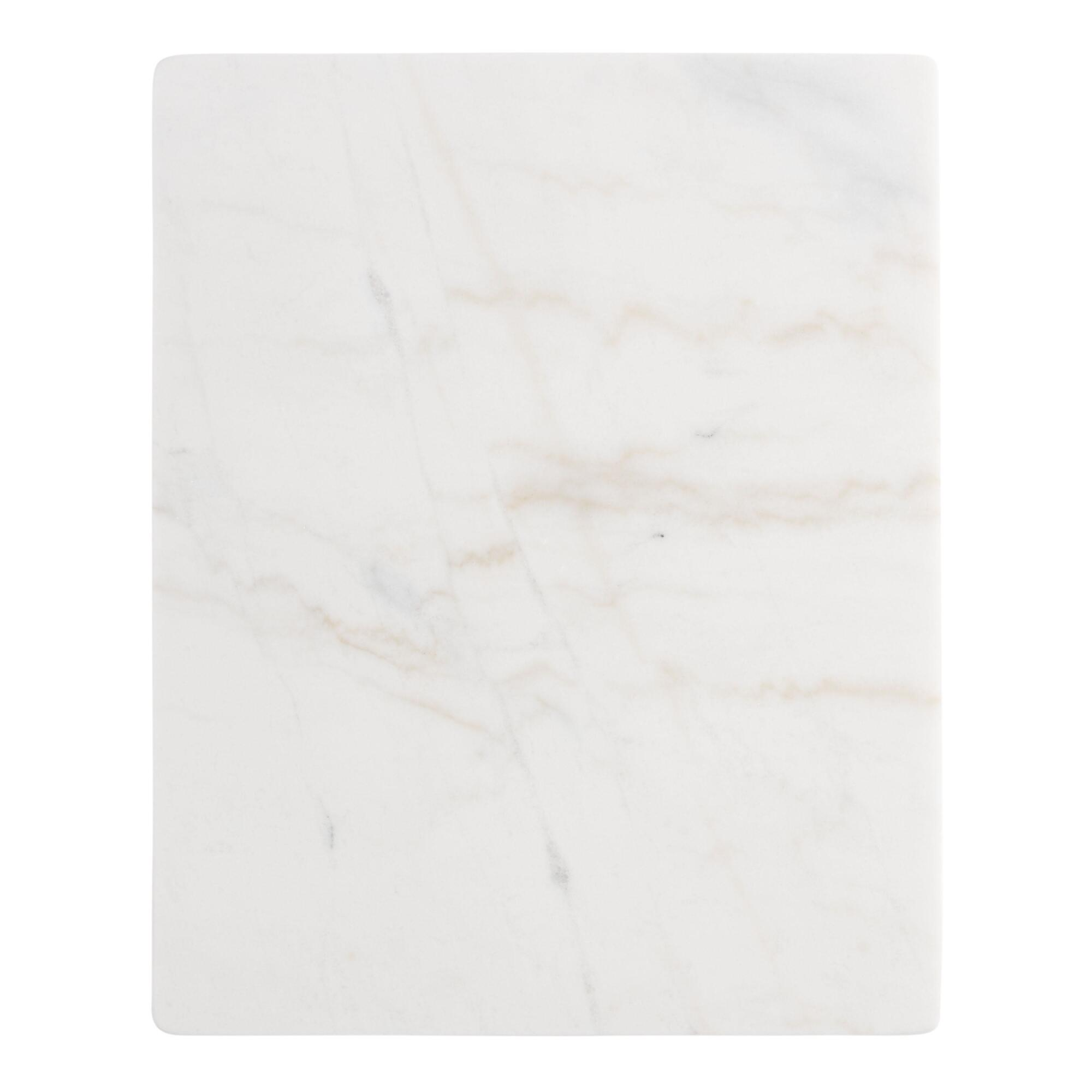 White Marble Pastry Board by World Market
