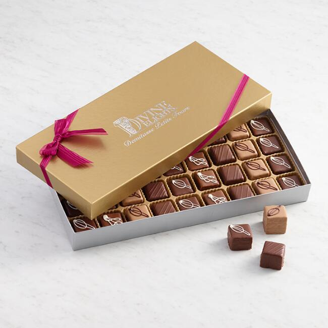 Demitasse Assorted Chocolate Petits Fours 36 Count