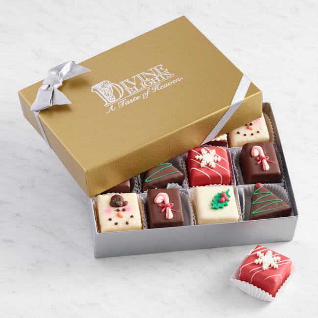 Classic Christmas Petits Fours 12 Count