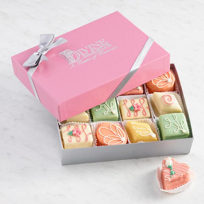 Classic Pastel Petits Fours 12 Count