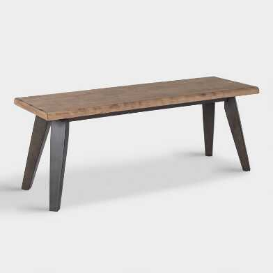 Live Edge Wood Colbie Bench