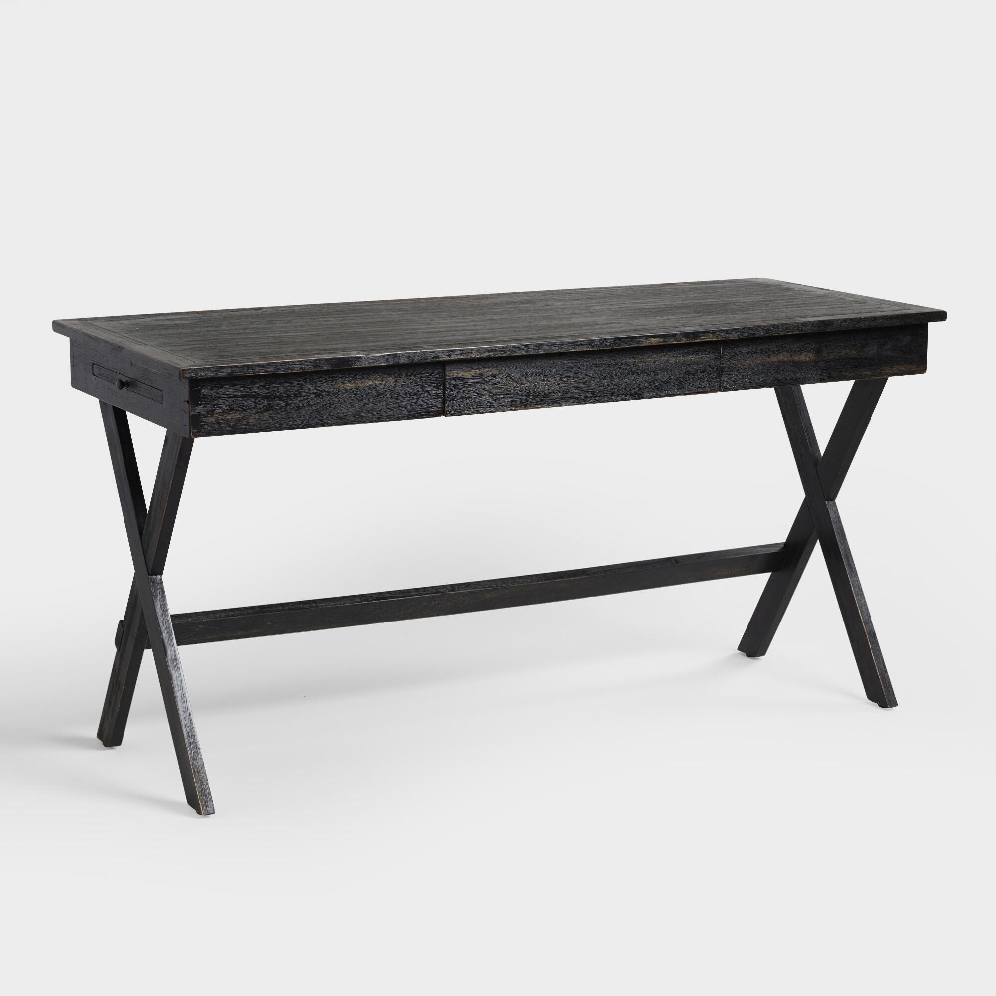 meva addison wood reclaimed coffee metal and furniture drawers desk moti table