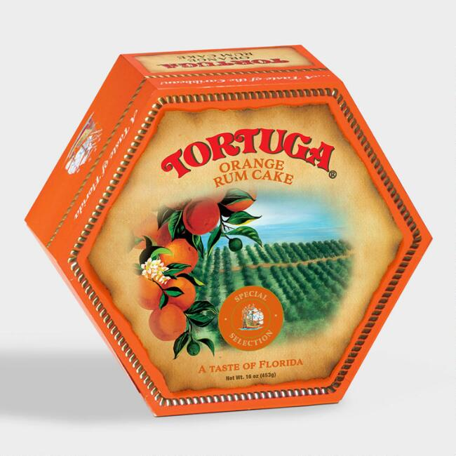 Tortuga Taste of Florida Orange Rum Cake