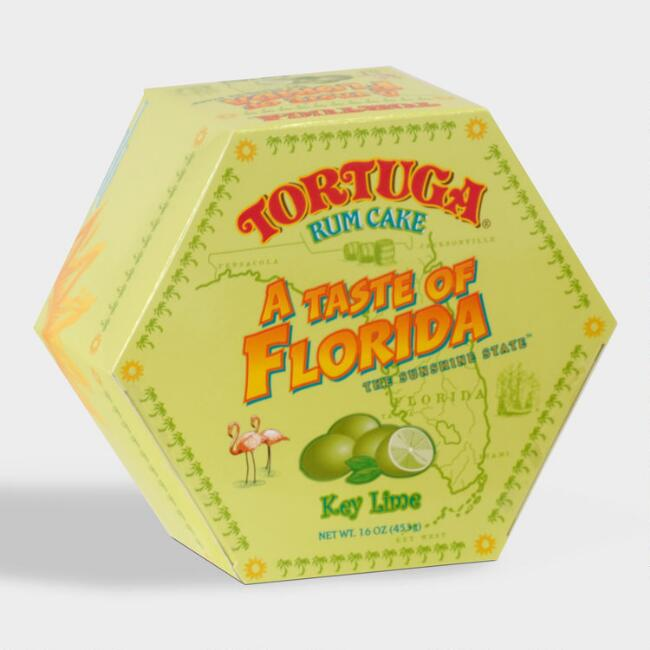Tortuga Taste of Florida Key Lime Rum Cake