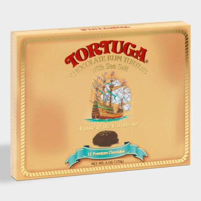 Tortuga Chocolate Rum Turtles with Sea Salt