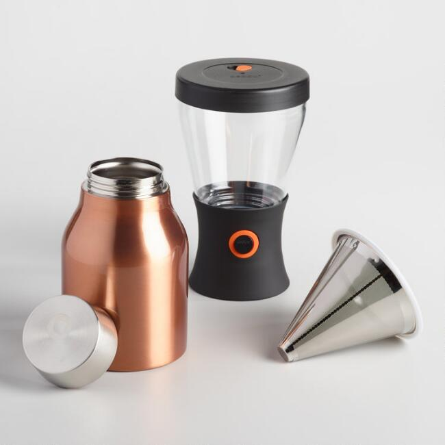 World Market Furniture Reviews: Asobu Insulated Portable Cold Brew Coffee Maker