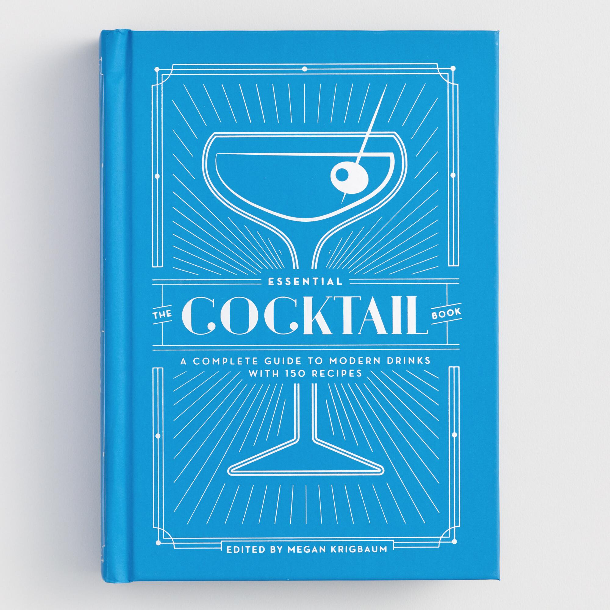 The Essential Cocktail Recipe Book by World Market