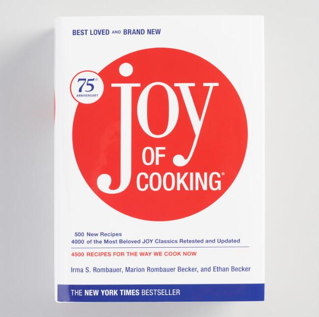 The Joy of Cooking 75th Anniversary Edition Cookbook