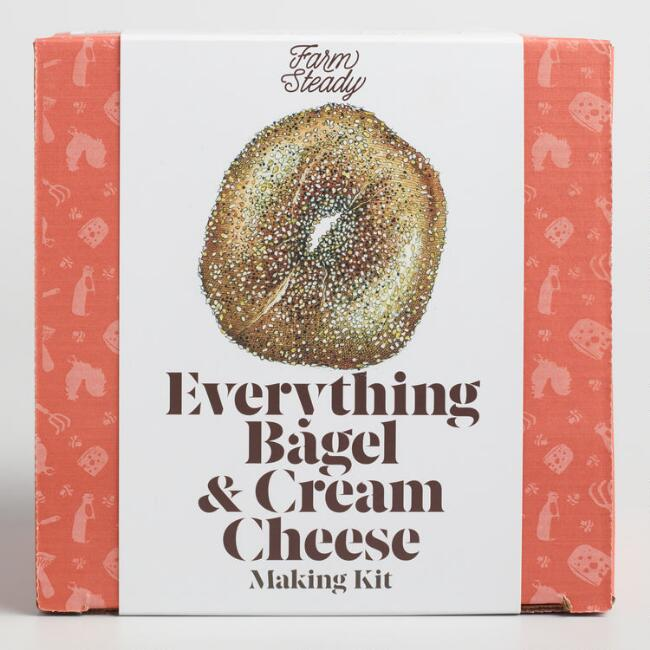 FarmSteady Everything Bagel and Cream Cheese Making Kit