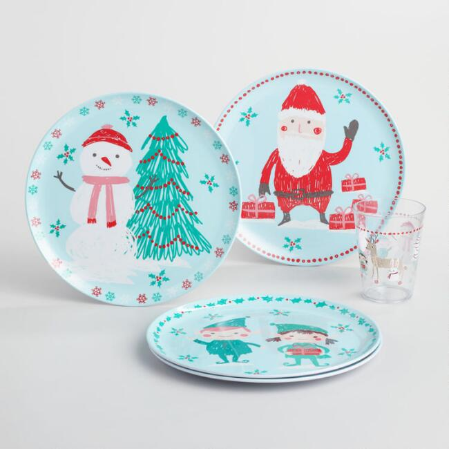 Jolly Santa Dinnerware Collection