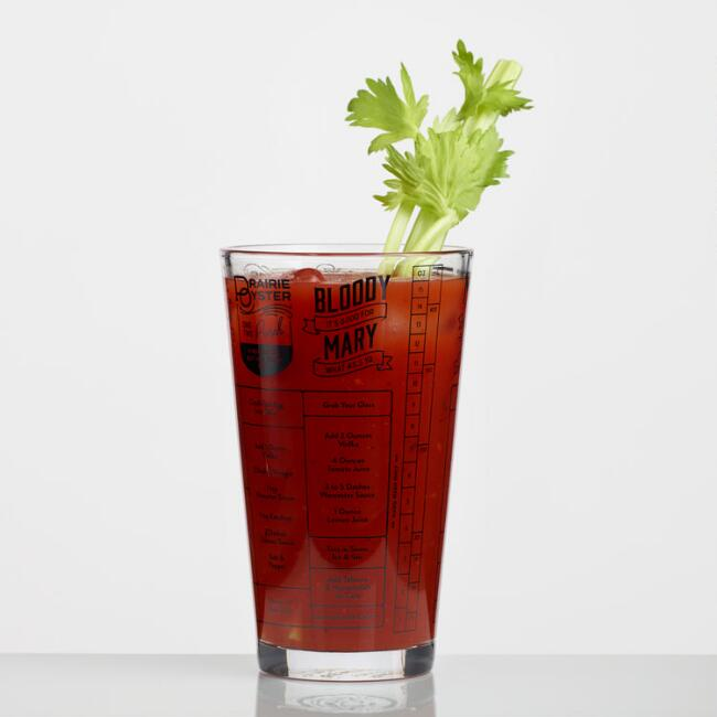 Fred & Friends Hangover Cures Recipe Glass