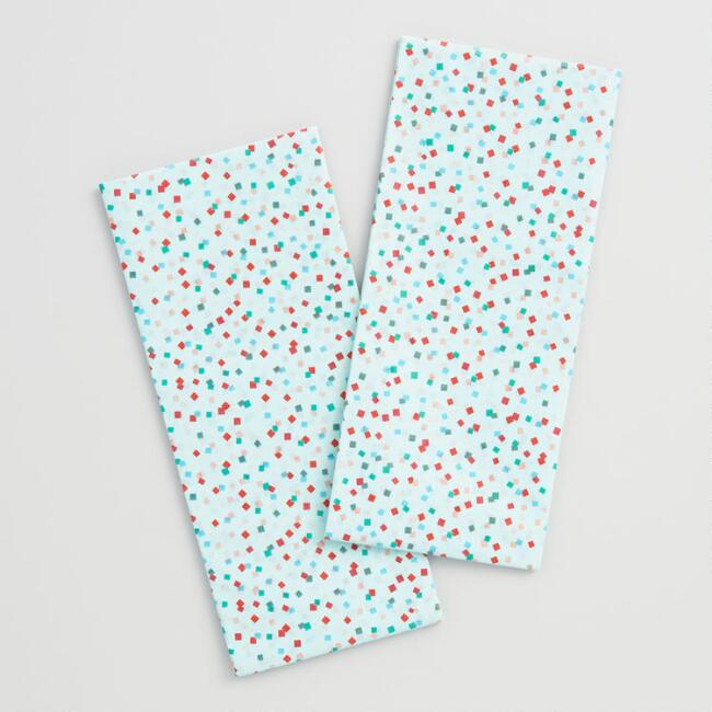 Nordic Holiday Confetti Tissue Paper Set of 2