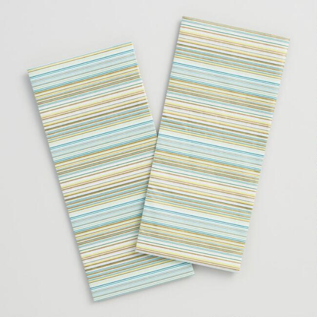 Striped Holiday Tissue Paper Set of 2