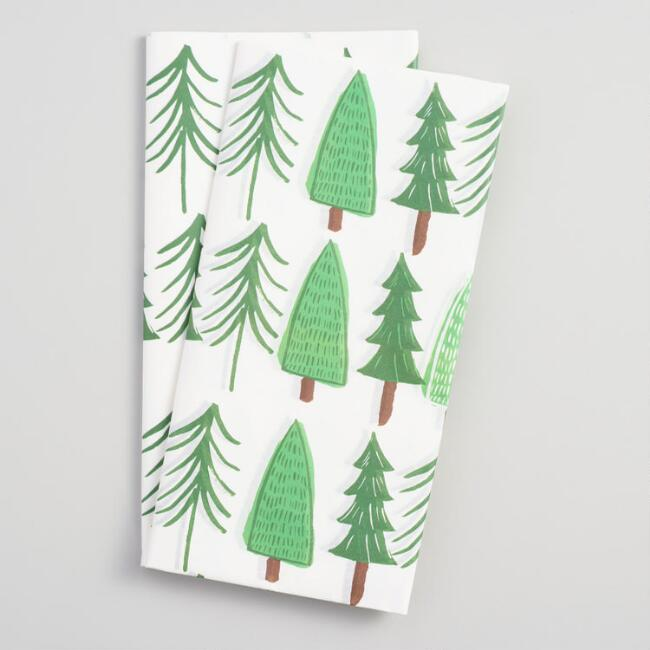 Holiday Trees Tissue Paper Set of 2