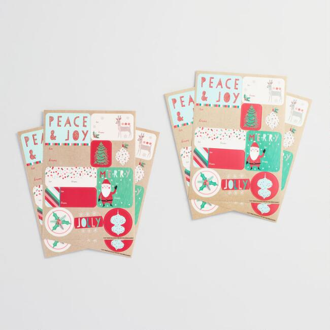 Nordic Gift Labels Set of 2