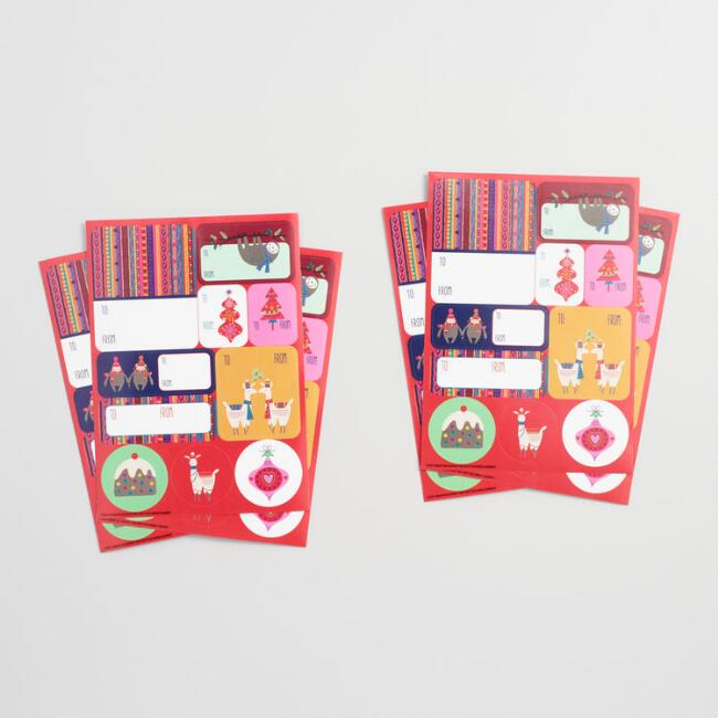 Folkloric Gift Labels Set of 2