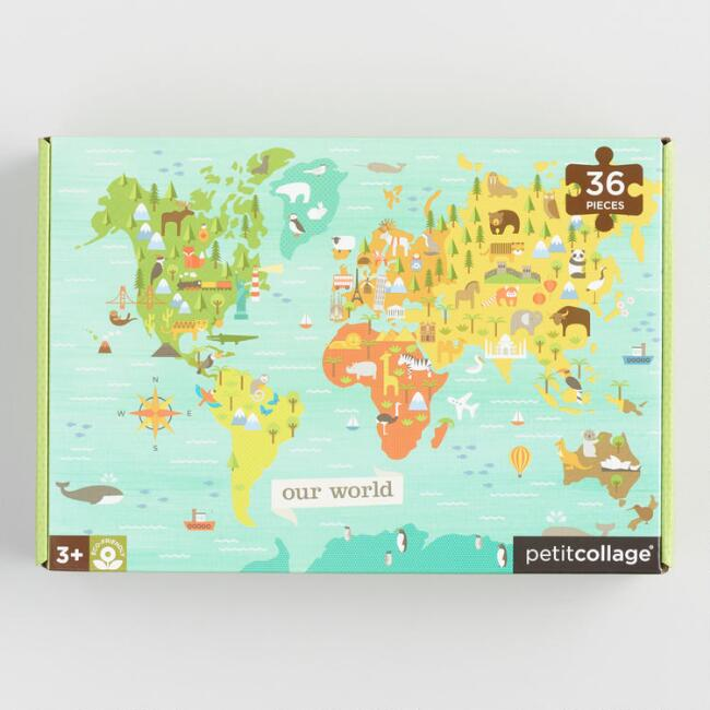 World map 36 piece floor puzzle world market world map 36 piece floor puzzle gumiabroncs