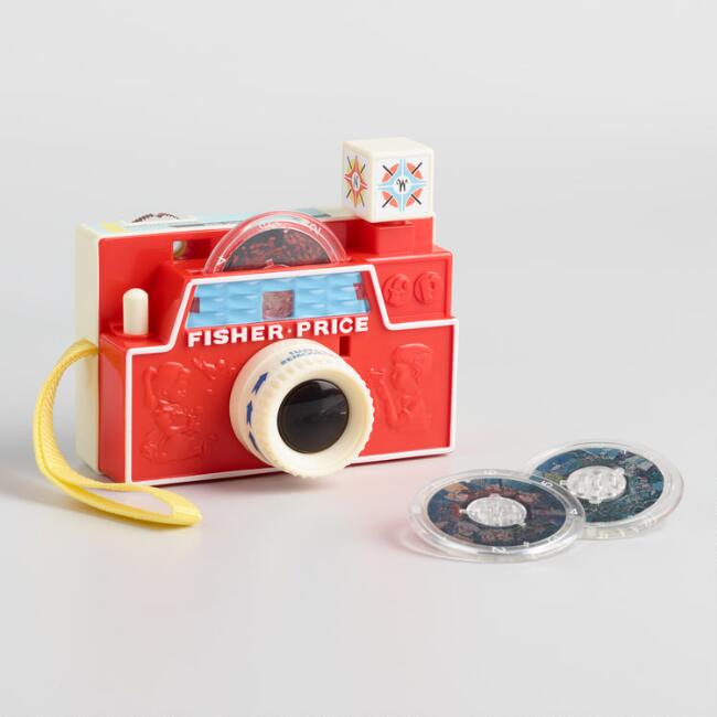 Fisher Price Retro Changeable Picture Disk Camera