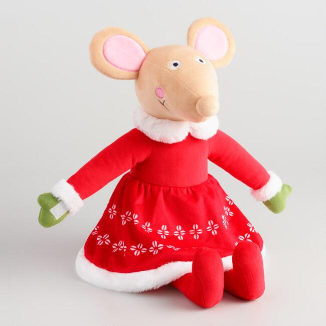 Large Mama Sweetest Family Plush Mouse