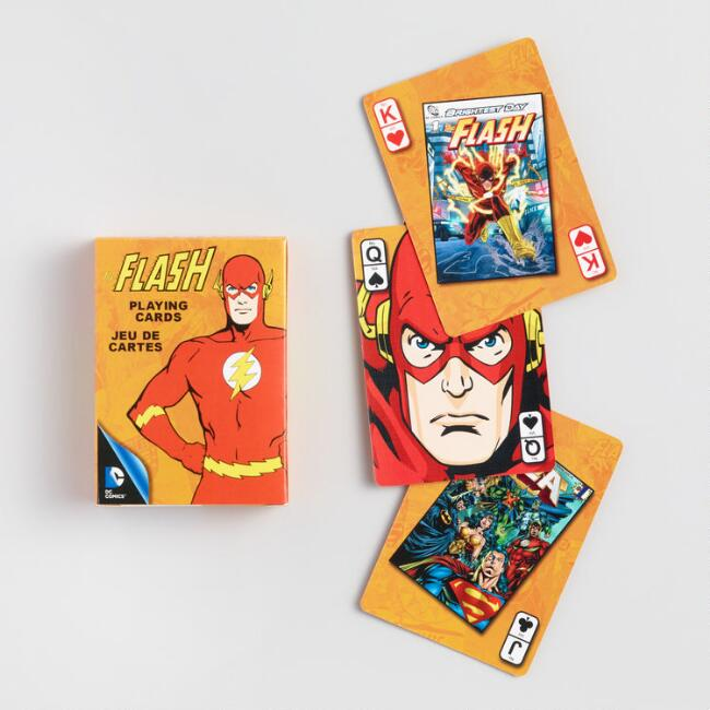 DC Comics Retro Flash Playing Cards