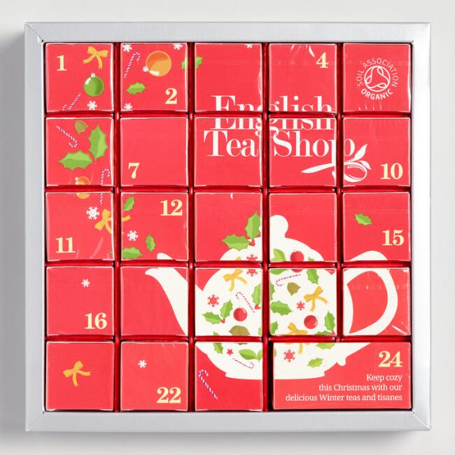 The English Tea Shop Advent Calendar 24 Count