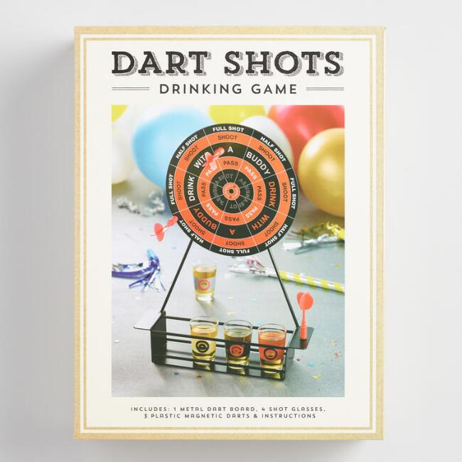 Mini Darts Shots Drinking Game