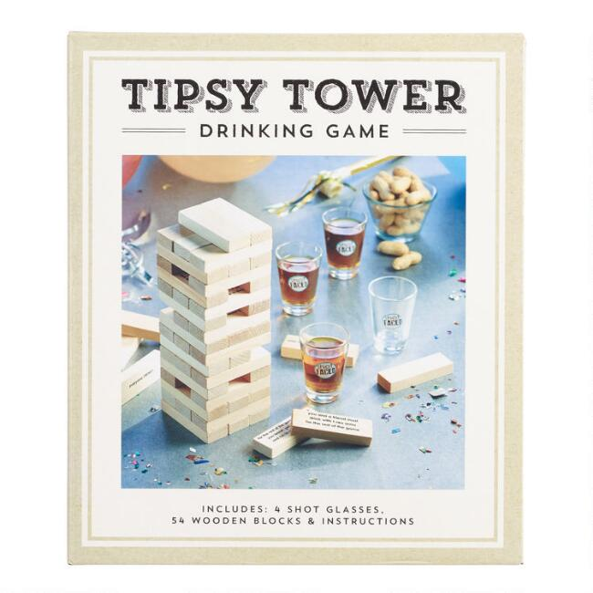 Tipsy Tower Drinking Game