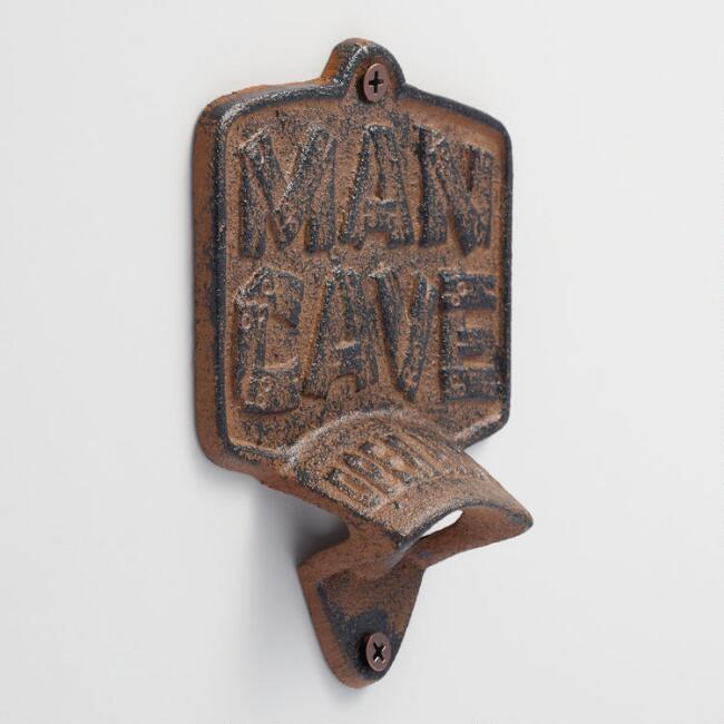 Man Cave Wall Mounted Bottle Opener