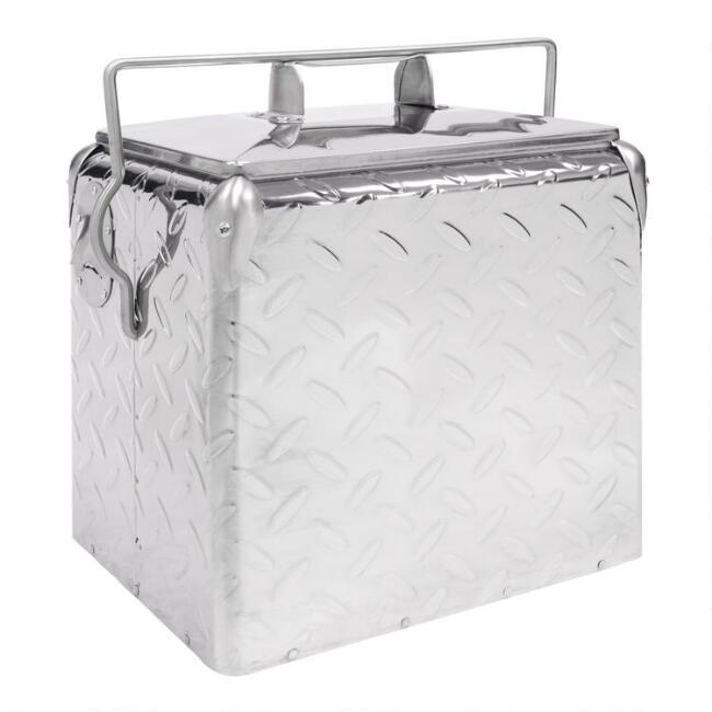 Metallic Retro Drink Cooler