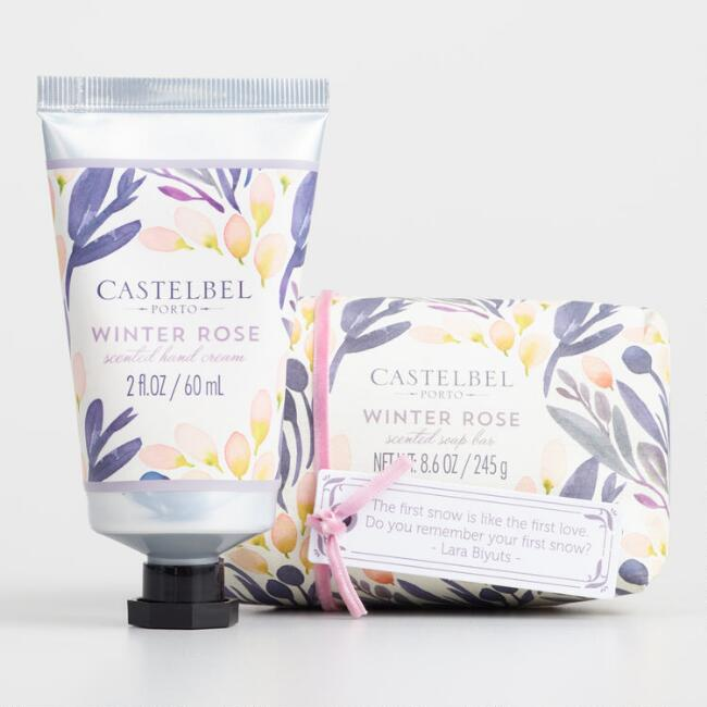 Castelbel Winter Rose Bath and Body Collection