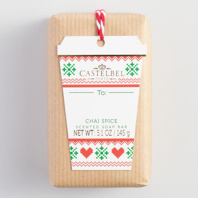 Castelbel Holiday Beverage Chai Spice Bar Soap