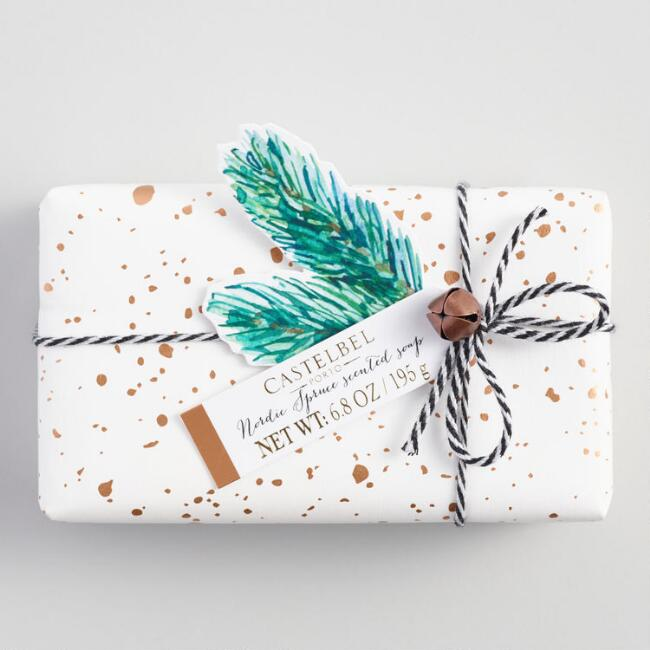 Castelbel Holiday Speckled Nordic Spruce Bar Soap