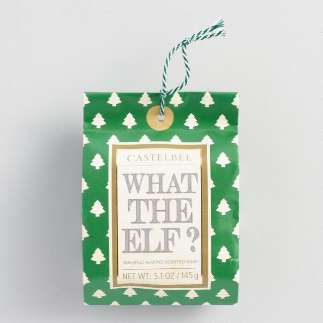 Castelbel What The Elf Sugared Almond Bar Soap