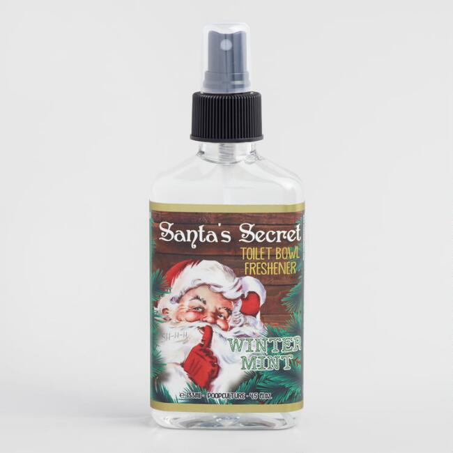 Santa's Secret Winter Mint Toilet Bowl Freshener