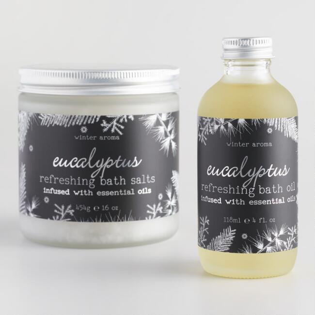 Winter Aroma Eucalyptus Refreshing Bath Collection