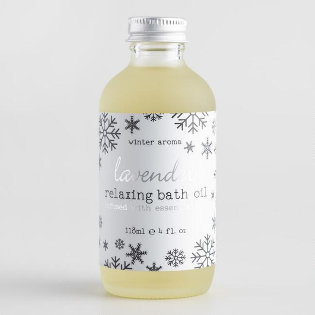 Winter Aroma Lavender Relaxing Bath Oil